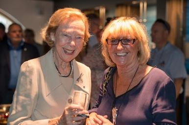 Madame Solvay & Huguette Thielemans Photo Philipppe Vanderlinden