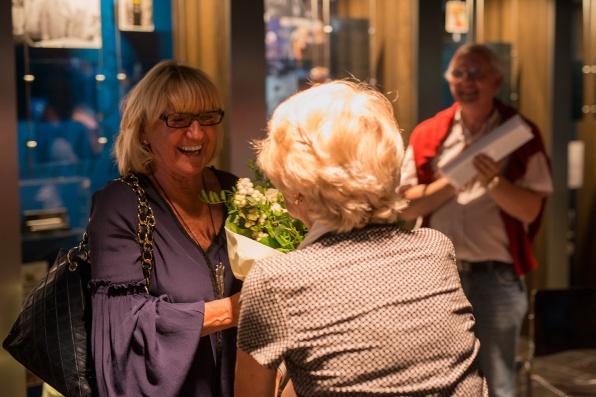 Huguettte Thielemans & Rita Grynrock Photo: Philippe Vanderlinden