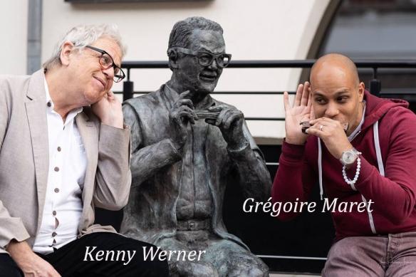 Kenny Werner et Gregoire Maret_n signé